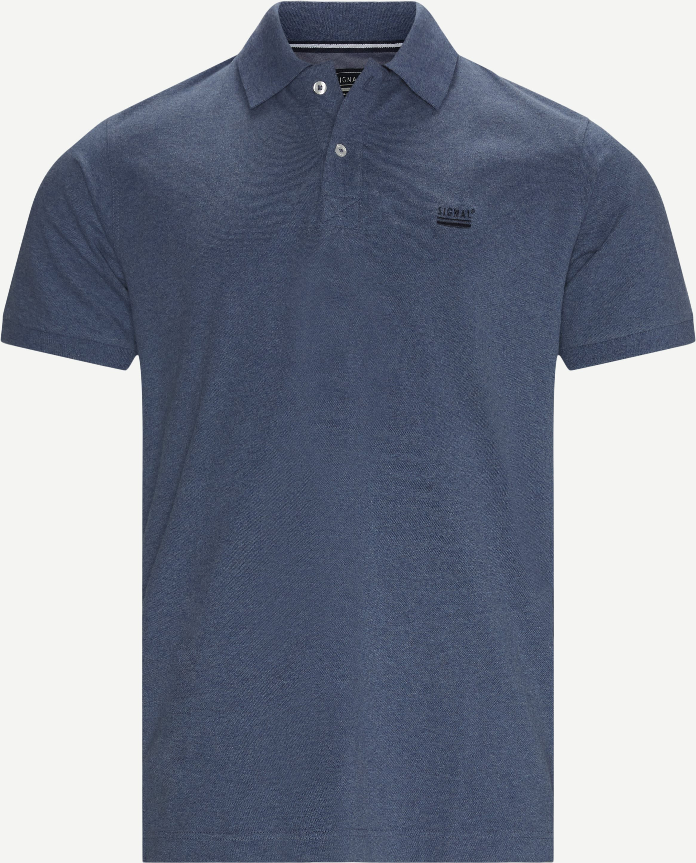 Nors Polo T-shirt - T-shirts - Regular fit - Denim